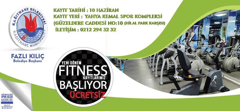 FITNESS KAYITLARI BAŞLIYOR