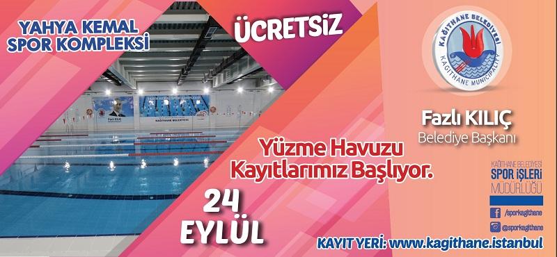 Yahya Kemal Spor Kompleksi Yüzme Havuzu