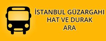 İstanbul Güzergahı Hat ve Durak Ara
