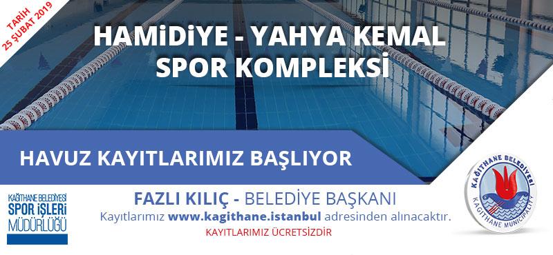 Hamidiye Yahya Kemal Spor Kompleksi