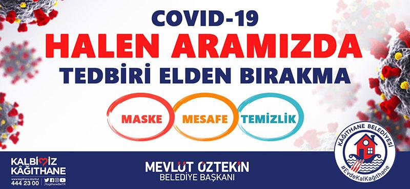 Covid-19 Halen Aramızda Tedbiri Elden Bırakma