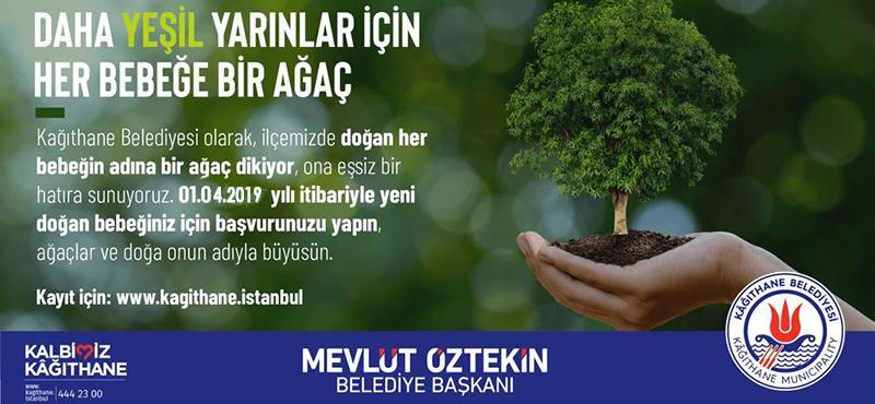 Daha Yeşil Yarınlar İçin Her Bebeğe Bir Ağaç