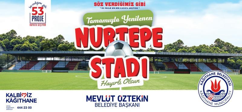 Tasarımıyla Yenilenen Nurtepe Stadı