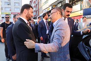 CUMHURBAŞKANI YARDIMCISI OKTAY KAĞITHANE'DE