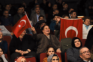 SARIKAMIŞ ŞEHİTLERİ, KAĞITHANE'DE ANILDI