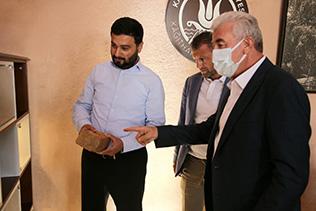 BAŞKAN EPSİLELİ'DEN KAĞITHANE'YE ZİYARET