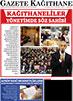 2018 Gazete Kağıthane Mart Sayısı Çıktı